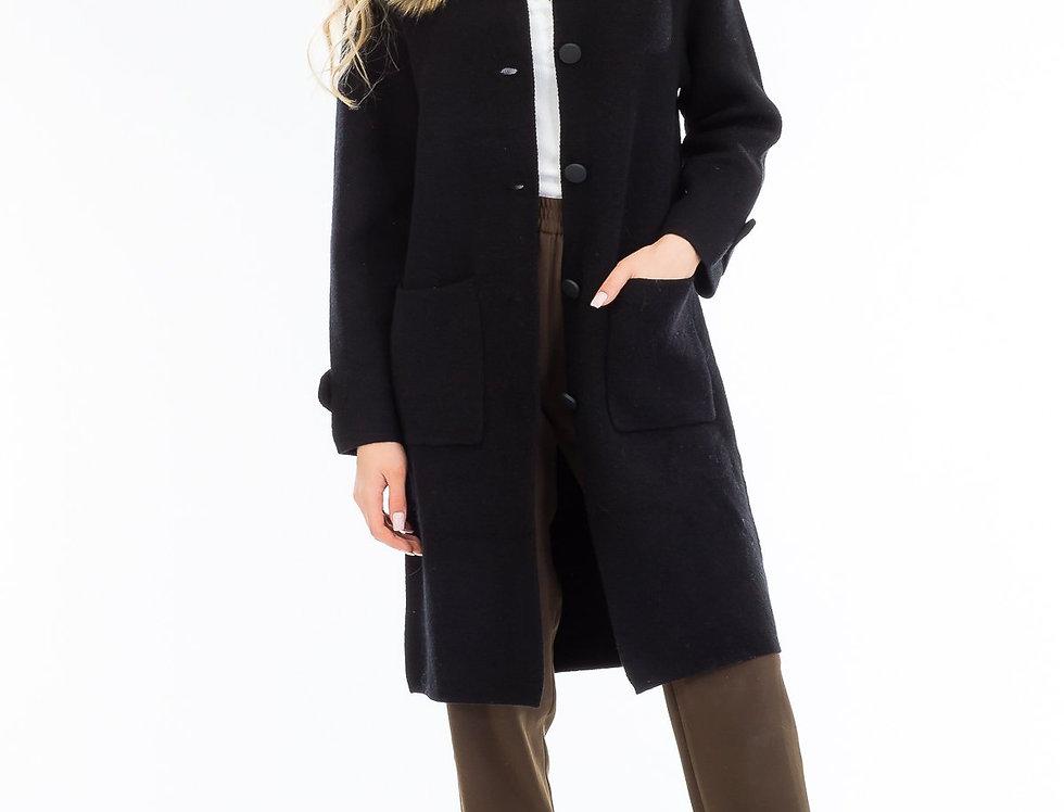4701 Natalie Buttoned Long Jacket