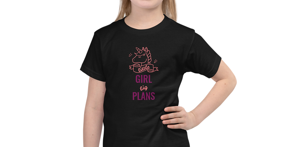 Short sleeve Girls t-shirt