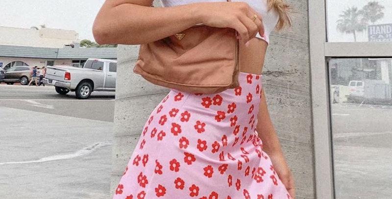 Mini Skirt High Waist