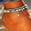 Thumbnail: Vintage Double Beaded Turtle Starfish Boho Anklet