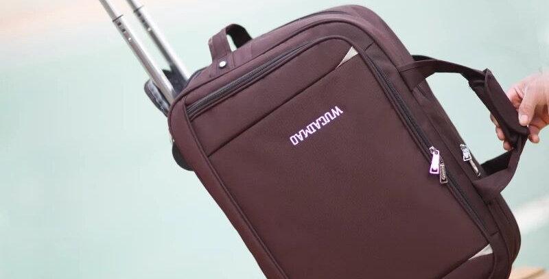 Rolling Suitcase  Waterproof Luggage Bag