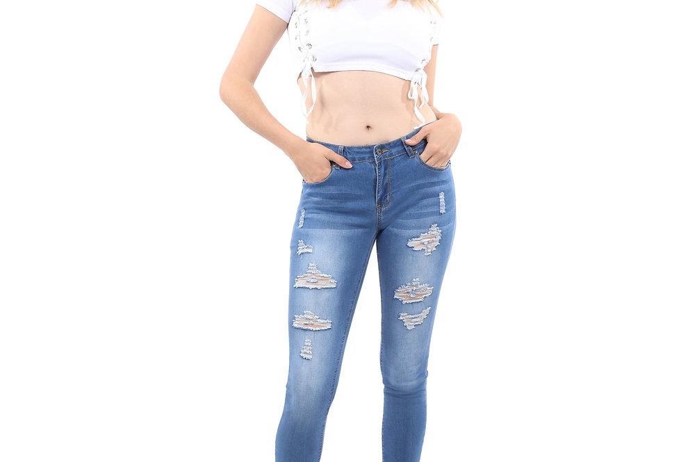 Wallace Skinny Jeans - Blue