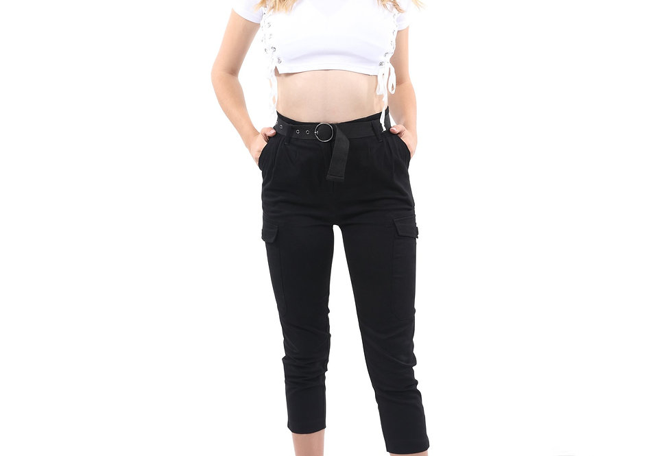 Contini Skinny Cargo Pant [MADE IN ITALY]