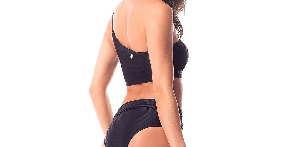 Black High Waisted Bottom - Maya