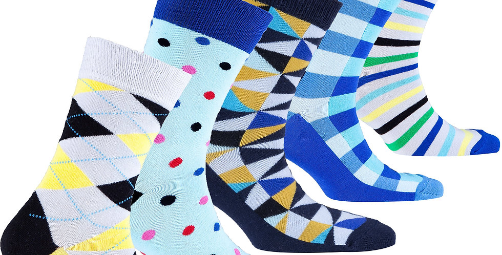 Kids Trendy Mix Set Socks