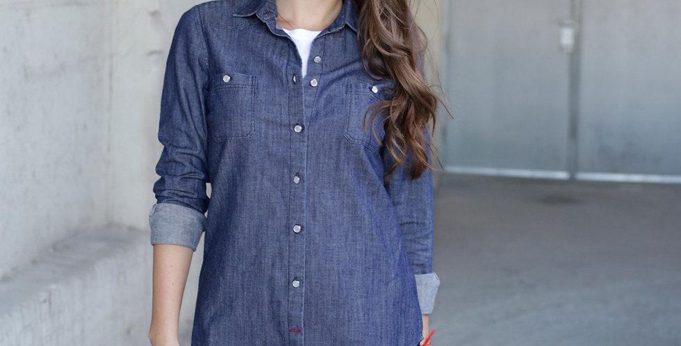 Bowery Denim Shirt - Women's