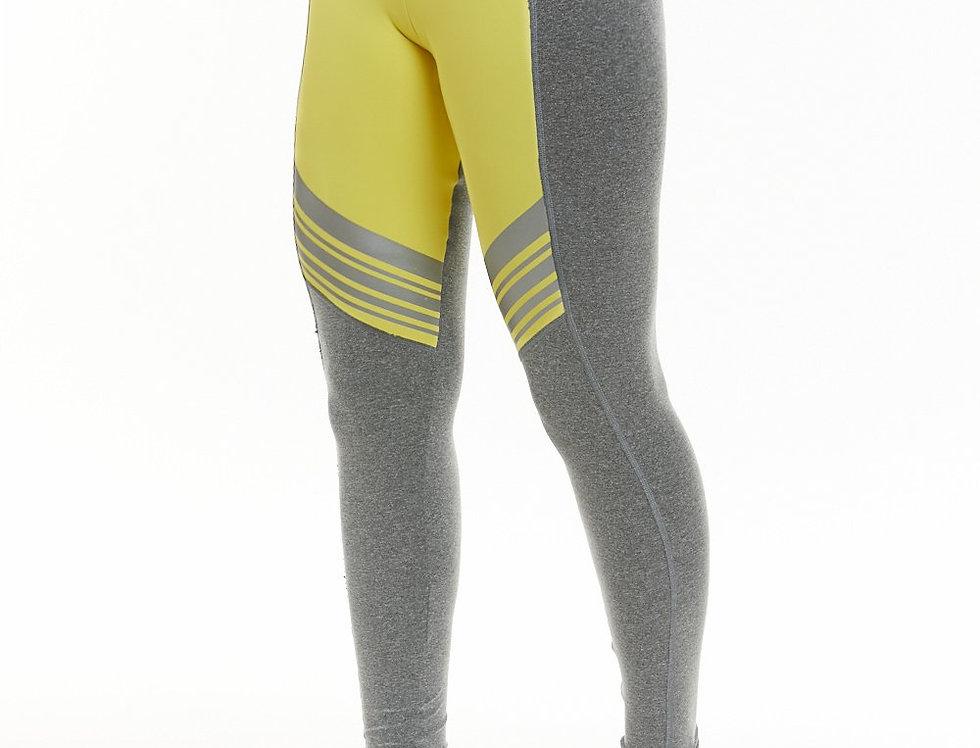Tech Yellow High Waisted Legging