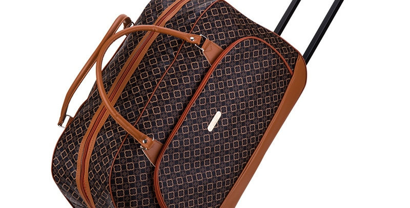 Travel Suitcase on Wheels Trolley Luggage