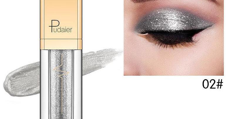 Pudaier Glitter & Glow Liquid Eyeshadow - Color # 02