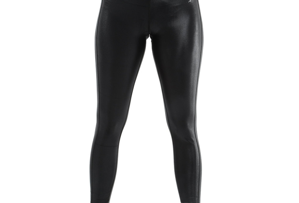SALE! 50% OFF! Cortina Activewear Leggings - Black [MADE IN ITALY] - Size Small