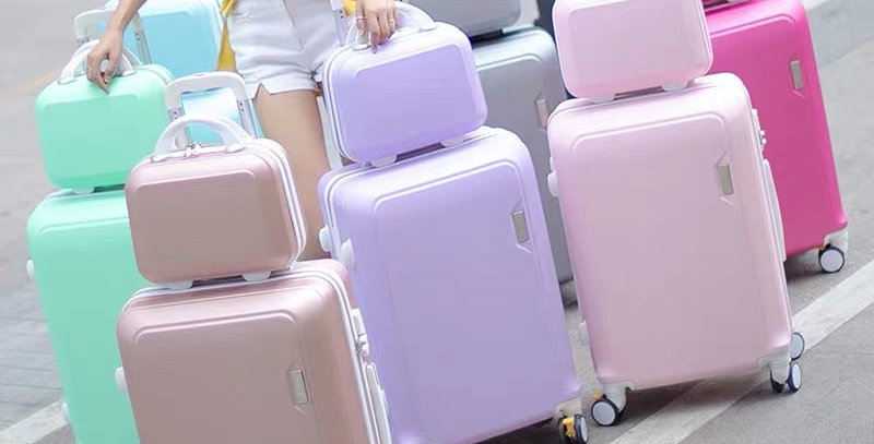 ABS+PC Luggage Set Travel Suitcase on Wheels
