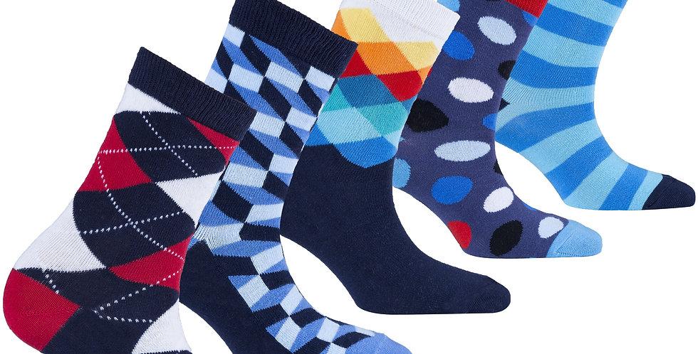 Kids Natural Mix Set Socks