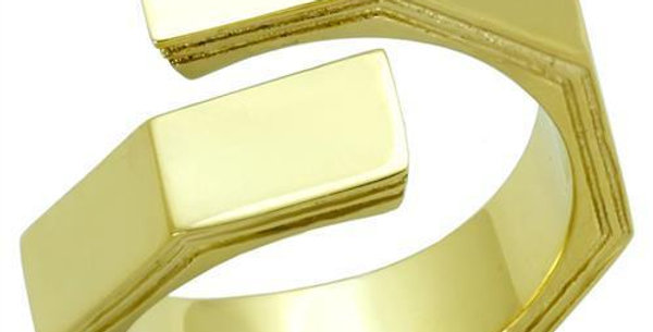 TK1629 IP Gold(Ion Plating) Stainless Steel Ring