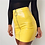 Thumbnail: Pencil High Waist Solid Leather Skirt
