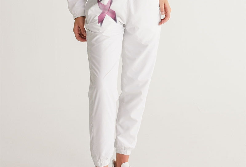 Breast Cancer Awareness Ribbion Women's Track Pants