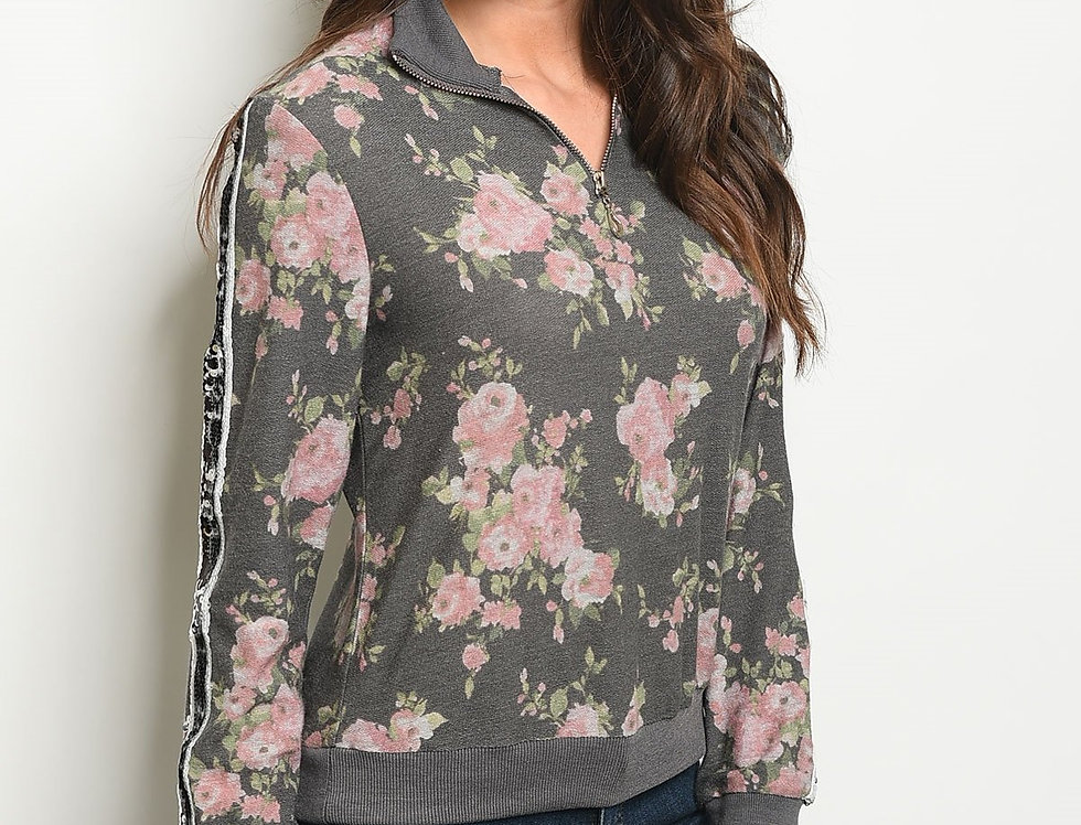 Womens Floral Top
