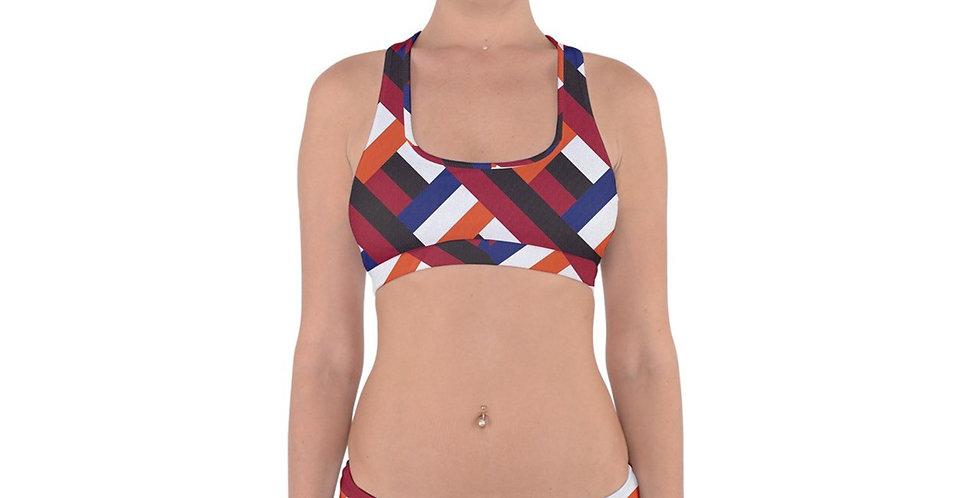 Cross Back Hipster Bikini
