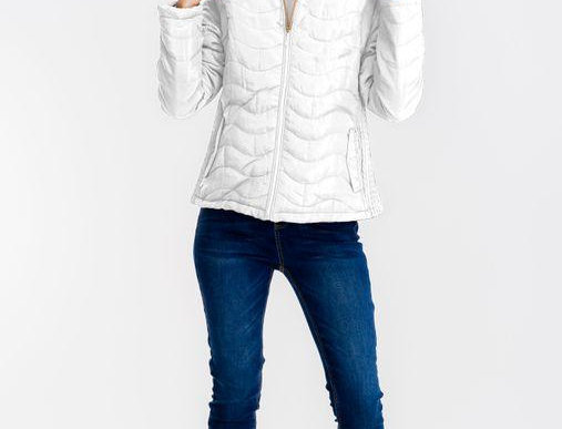 Emmie Faux Fur Puffy Jacket Offwhite
