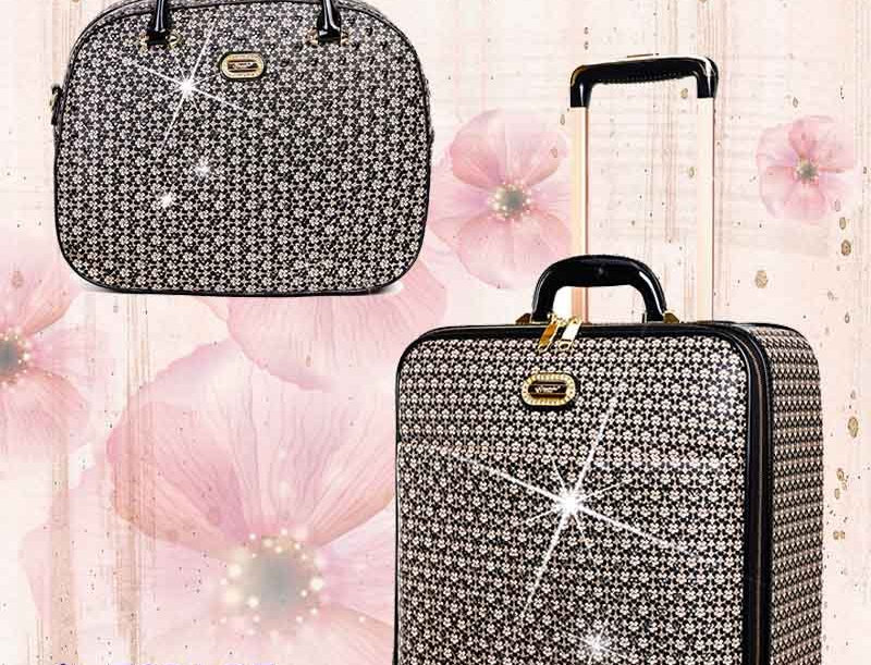 Galaxy Stars 3PC Set | Leather Bags Luggage Set on Clearance
