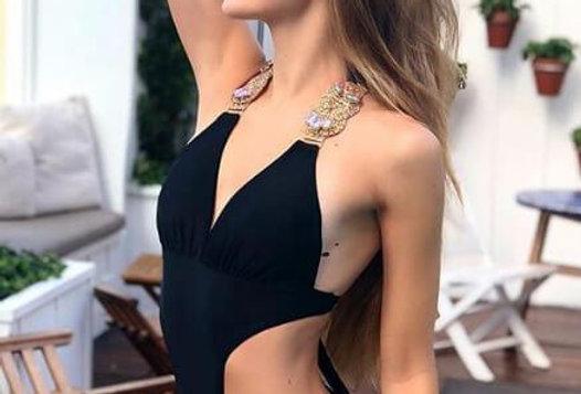 Emma One-Piece Swimsuit - Black