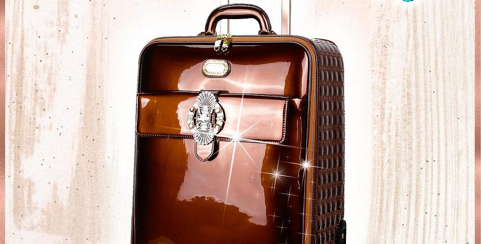 Queen's Crown Suitcase Getaway Travel Luggage Spinner Wheels