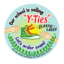 Hand Out Sticker
