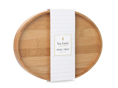 Oval Bamboo Tea Tray