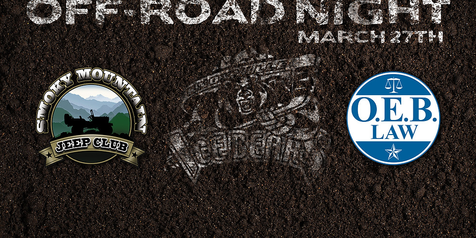 Booster Club Table Off Road Vehicle Night Canceled