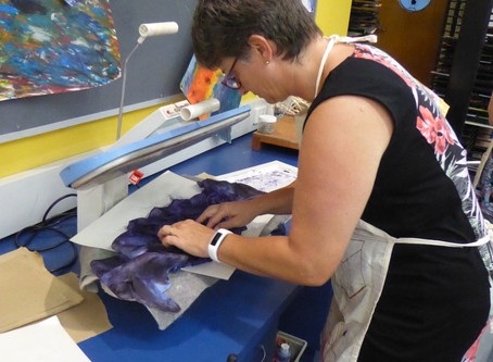 Colour it your way: Silk scarf workshop