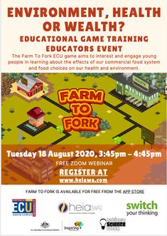 ECU - Farm to Fork - Webinar