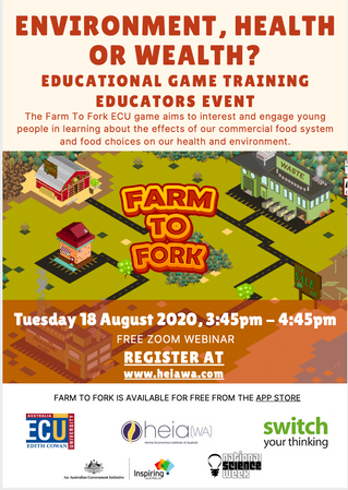 ECU - Farm to Fork - Webinar