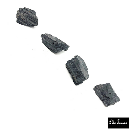 Raw Black Tourmaline Crystal