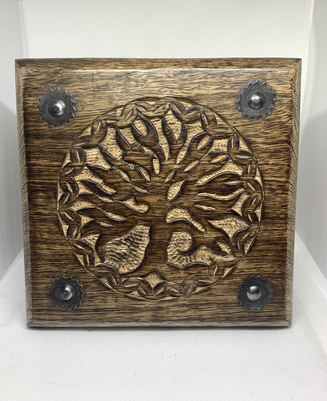 Tree of Life Carver Wood Box