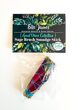 EJ Signature Sage Brush Smudge Stick - 4""