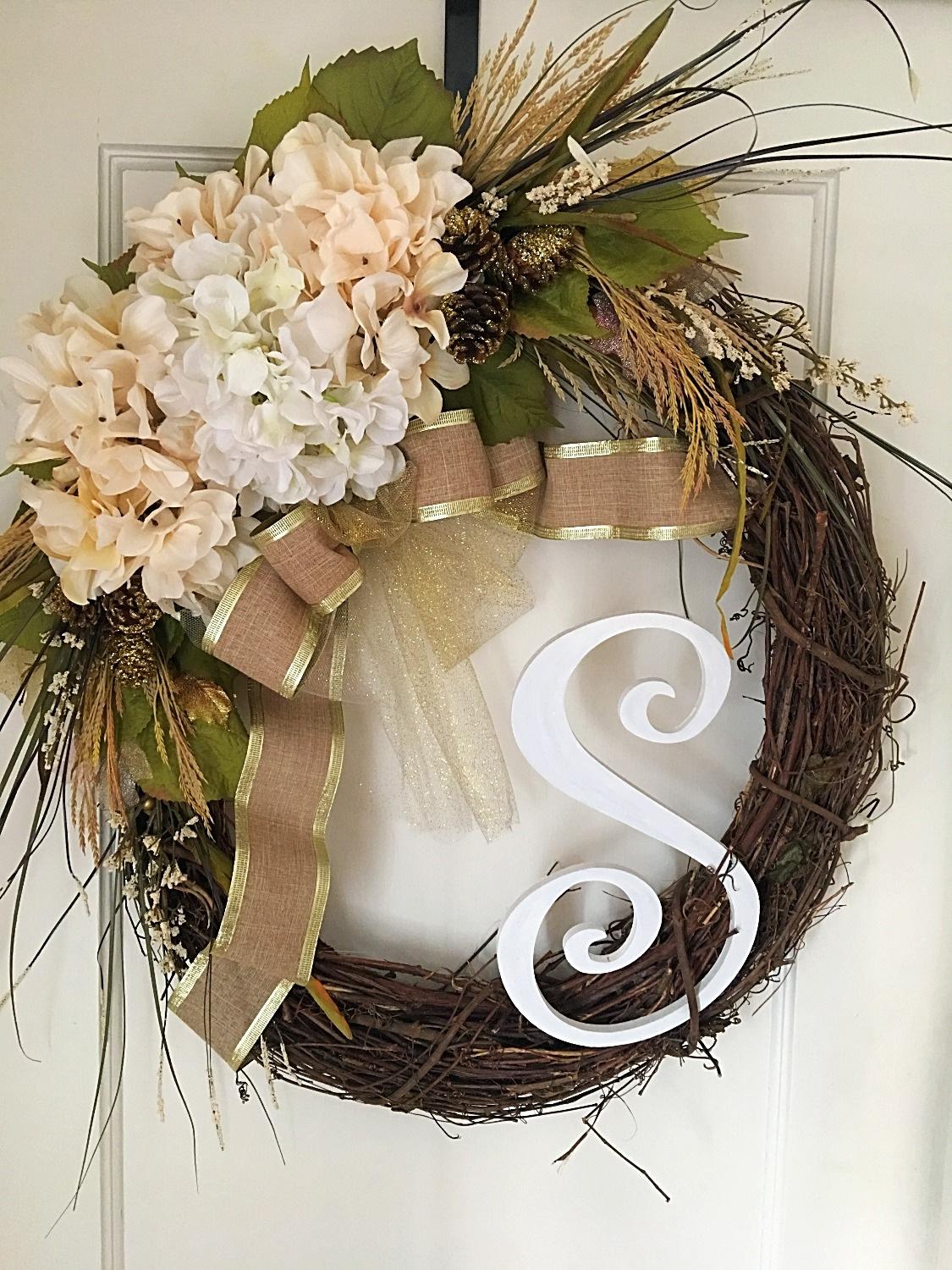 Elle James all year custom wreath