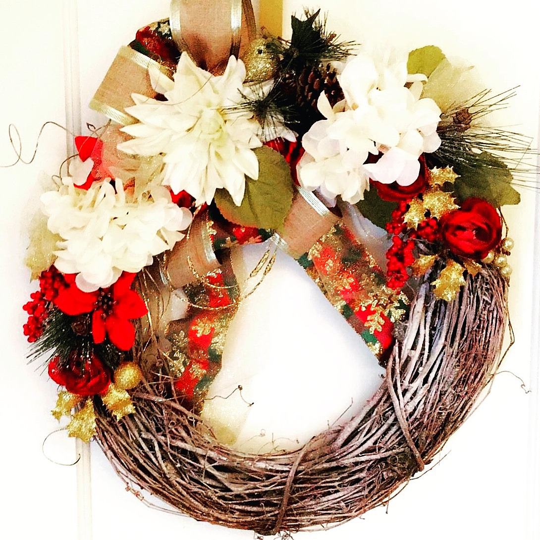 Custom Holiday Wreath