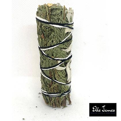 Cedar + White Sage Smudge Stick