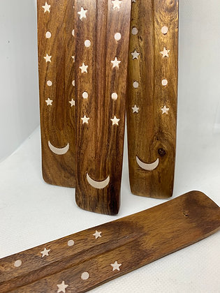 Moon and Stars Incense Holder