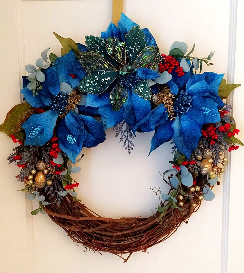 Elle James Custom Holiday Wreath