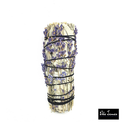 Lavender + White Sage Smudge Stick