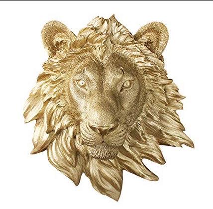 Saharan Lion Head