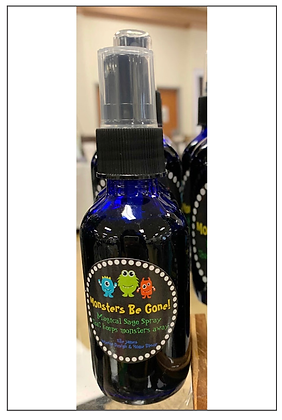 Monsters Be Gone! Sage Clearing/Smudging Spray