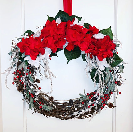 Holiday/ Winter Wreath