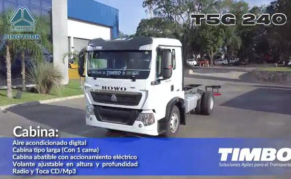 SINOTRUK - HOWO T5G 240 CAJA 4y4 MEC