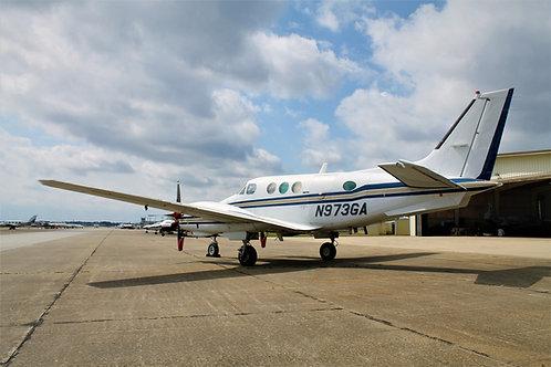 1976 Beechcraft King Air C90 N973GA