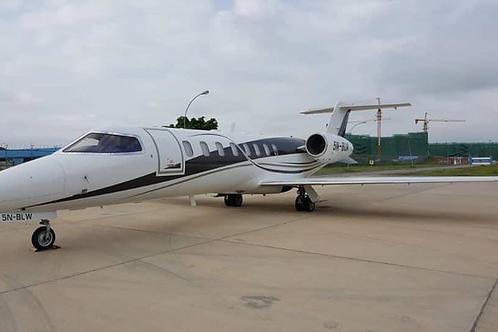 2007 Learjet 45XR 5N-BLW