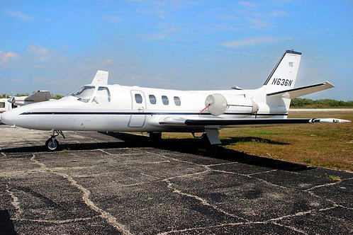 1978 Cessna Citation ISP 0069 N636N