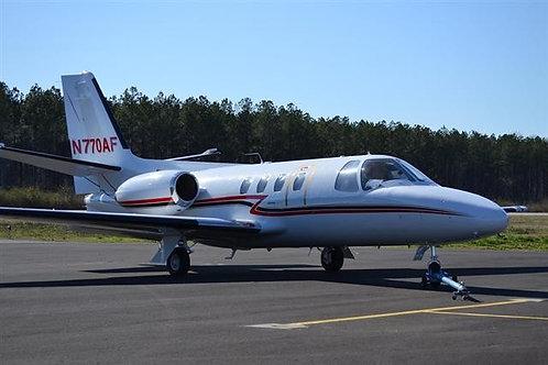 1974 Cessna Citation 500 SP 0208 N770AF