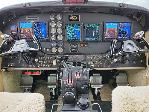 1992 King Air B200 BB-1437 N34LT