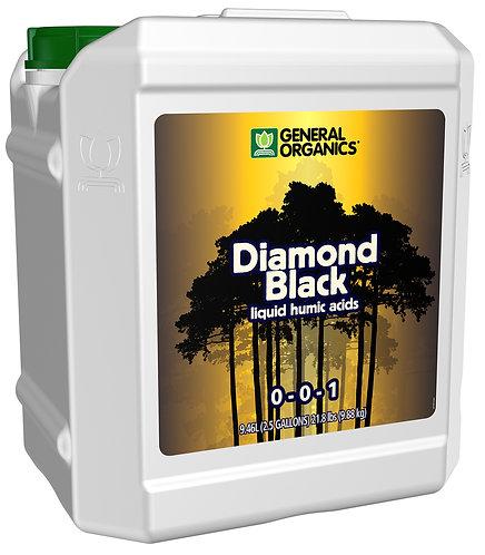 GH General Organics Diamond Black 2.5 Gallon (2/Cs)